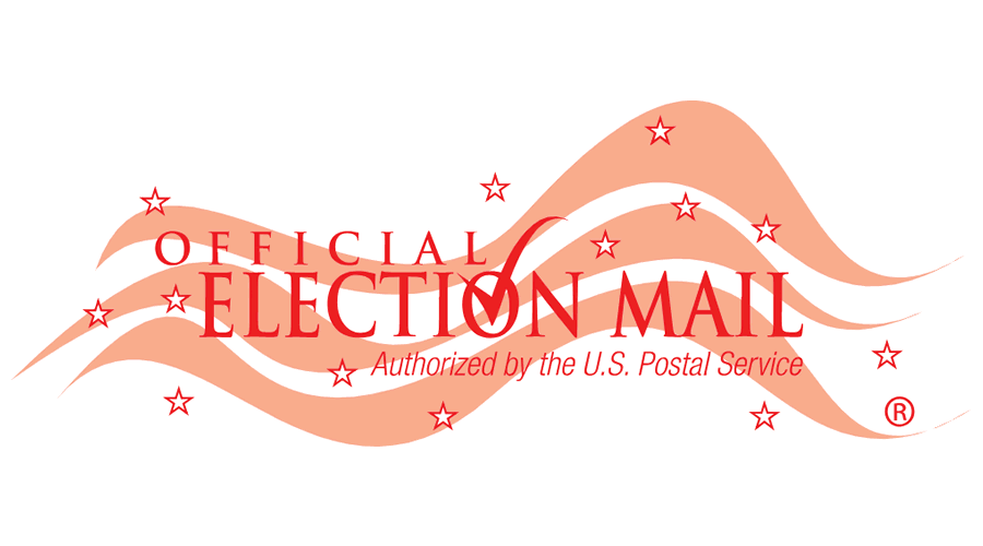Official Election Mail Authorized By The U S Postal Service Vector Logo Svg Png Seekvectorlogo Net