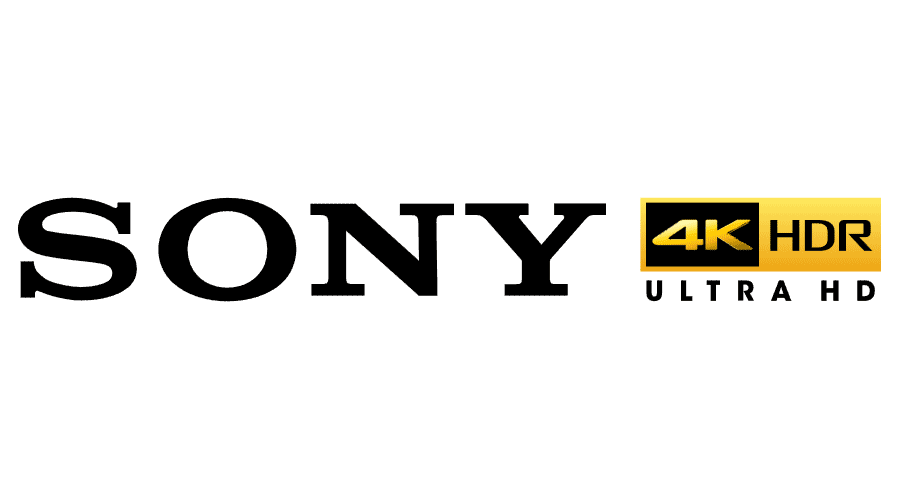 Sony 4K HDR Ultra HD Vector Logo - ( SVG +  PNG
