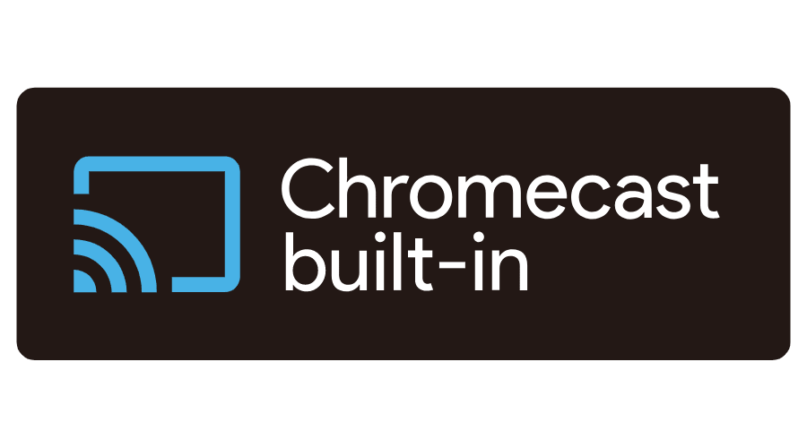 Kết quả hình ảnh cho chromecast built in logo