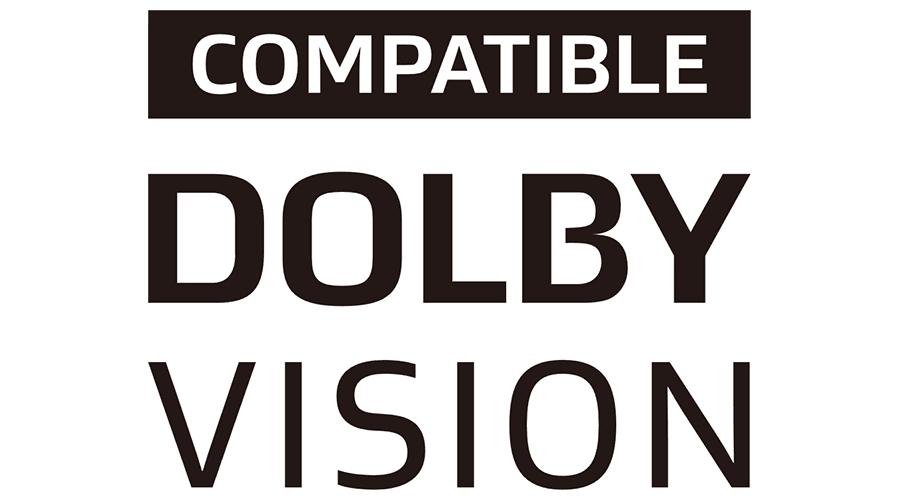 COMPATIBLE DOLBY VISION Vector Logo - ( SVG +  PNG